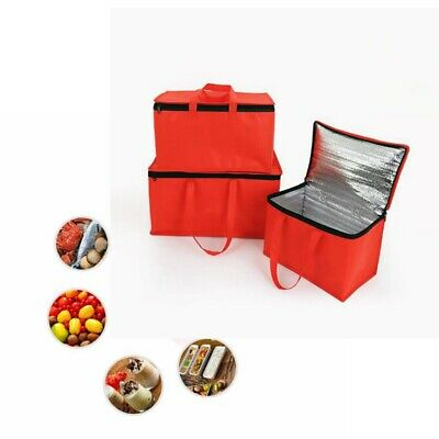 Delivery Bag Pizza Food Insulated Thermal Storage Holder Outdoor Picnic 15''