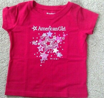 American Girl Doll Isabelle/'s Coral TEE top for GIRLS Girl  XS S M L SAMEDAYSHIP