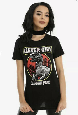 JURASSIC PARK CLEVER GIRL GIRLS T-SHIRT Size Medium New With Tags