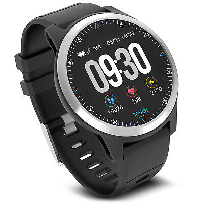 Tracker fitness smartwatch ECG Frequenza Cardiaca PFG App IP67  iOS , Android