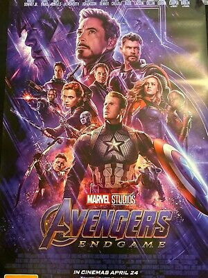 Avengers End Game - one sheet movie poster