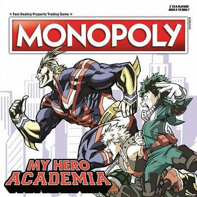 Monopoly: My Hero Academia Board Game - Gamestop Exclusive