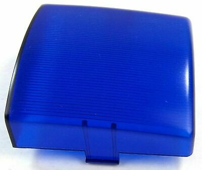 """UP Dome Light Lens Square for Peterbilt Blue Plastic 3"""" Two Tab #30830 Each"""