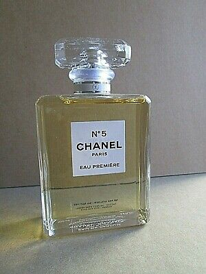 Chanel No 5 Eau De Parfum Premiere Factice Dummy Display Bottle 100 Ml 3.4 Oz