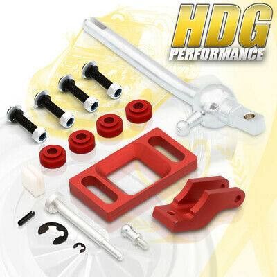Quick Short Throw Shifter Performance Upgrade Red For 95-99 Chevrolet Cavalier