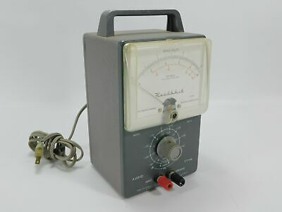 Heathkit AV-3 Vintage Tube Audio VTVM Voltmeter (untested, clean)