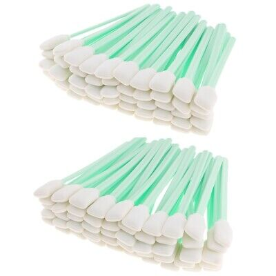 """100pcs 5"""" Long Foam Cleaning Swabs for Epson / Roland / Mimaki / Mutoh"""