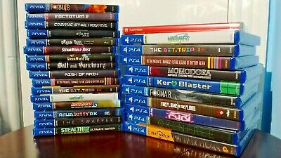 Limited Run Games LRG lot of games - Vita and PS4 *NEW & SEALED*