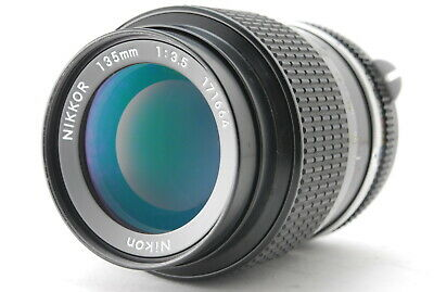 [EXC+++]Nikon New Nikkor 135mm F/3.5 MF Telephoto Lens From Japan