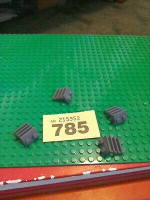 LEGO 4175 Plate Modified 1 x 2 with Ladder X4 DB GREY CITY CREATOR SPARE PARTS