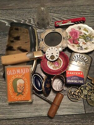 Joblot Attic Curio Finds - Mixed Lot of Vintage/Collectables and Curios