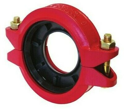 """Bocciolone Gr8Lok 931 Coupling Reduced d.4 """" X3 """" Powdercoated Red 7293G.931"""