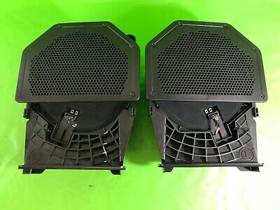 Bmw 1 Series E82 2X Subwoofer Speakers Central Bass 2007-2011