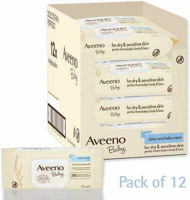 AVEENO Baby Daily Care Wipes - Cleanse Gently And Efficiently - Baby Wipes - -