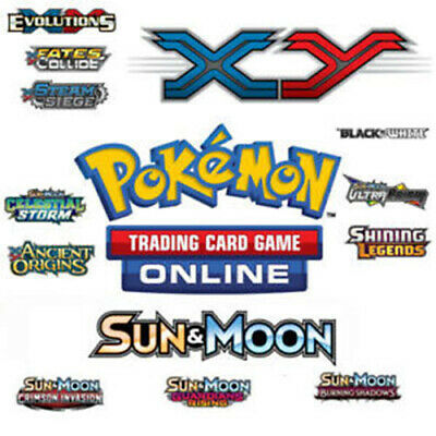 50x Sun & Moon/XY Pokemon TCGO PTCGO TCG Online Codes Sent Fast!!!! EMAIL 24hrs