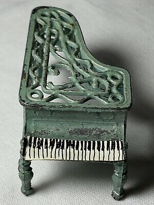 Miniature Antique Dollhouse Mini Grand Piano FRENCH PENNY TOY
