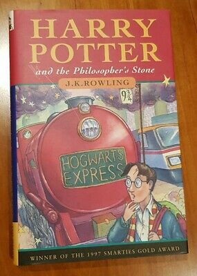 Harry Potter And The Philosophers Stone 1st Edition 2nd Print Young Wizard HB