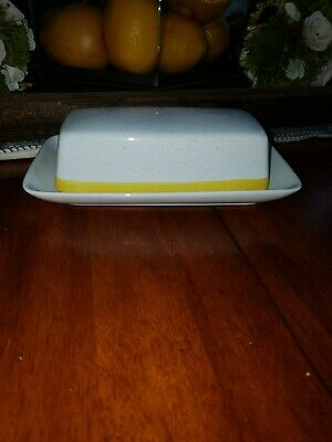 Chadds Ford Spring Meadow Covered Butter Dish