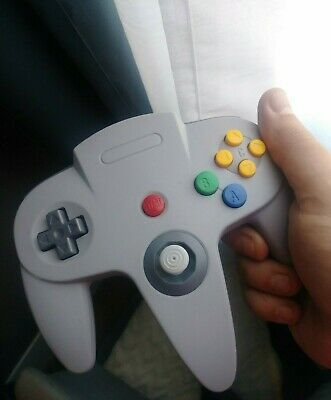 USB Controller Wired N64 Gamepad joystick for PC (project64 tested working)  6ft
