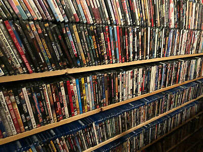 "Large Lot Blu Ray Movies ""You Choose Title"" ( Repackaged Previously Viewed)"
