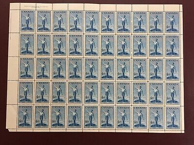 Canada Stamp Sheet/Pane - 1999 - 46-cent CANADIAN AIR FORCES Pane of 16 Stamps