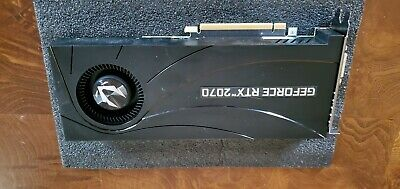 ZOTAC GAMING GeForce RTX 2070 Blower Turbo 8GB Gaming Graphics Card *For Parts*