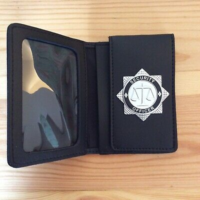 Security Officer Identity /  Warrant Card Holder Wallet