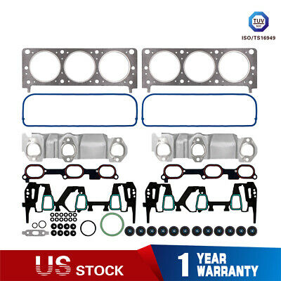 Engine Head Gasket Set for 2005-2009 Chevrolet Equinox Pontiac Torrent 3.4L