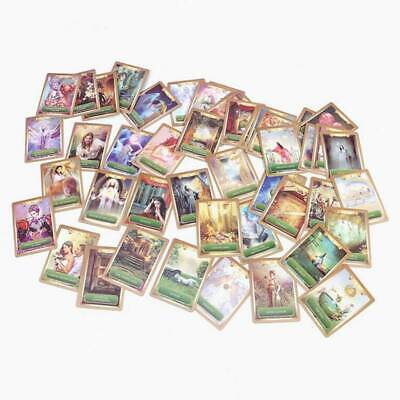 53 Full Color Cards Energy Oracle Tarot Cards Deck Kit Set