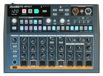 Arturia Drumbrute IMPACT Analog Drum Machine with 10 Drum Sounds and Song Mode