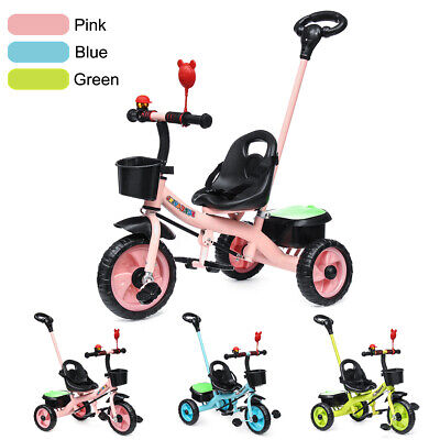 2 in 1 Baby Toddler Walker Kids Trike Tricycle Bike Children Bicycle 3 Wheel AU