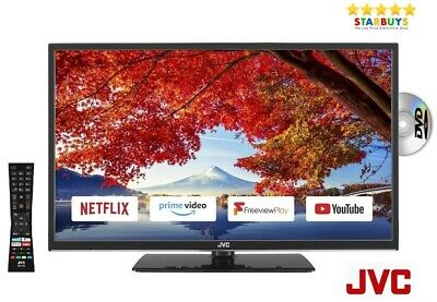 """JVC LT-24C695 24"""" Inch SMART LED TV DVD Player Combi With Freeview HD & WiFi"""