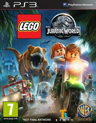 Lego Jurassic World, Ps3 (Playstation 3), Castellano, Store España (Digital)
