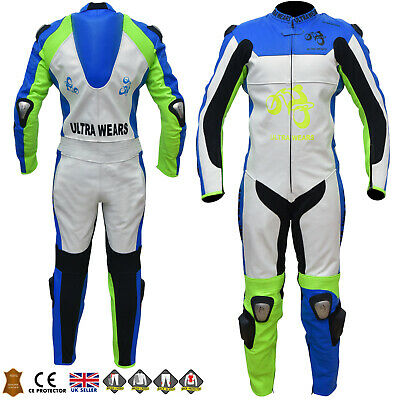 New Mens One Piece Motorbike Motorcycle Leather Racing Suit RRP £400 *Now £250*