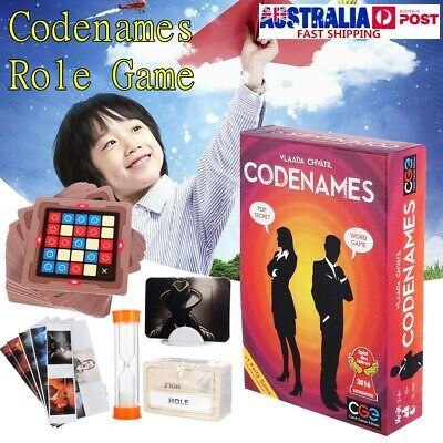 Codenames Deduction Card Party Board Game WORD GAME TOP SECRET Child Toy