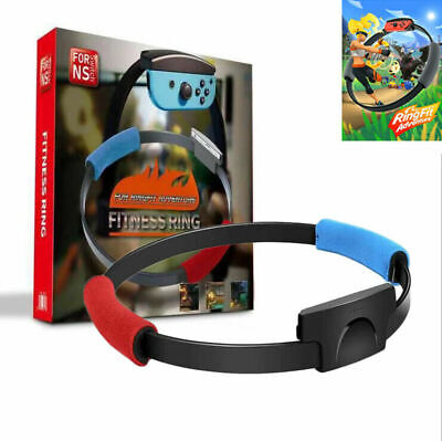 Ring Fit Adventure Nintendo Switch Fitness Healthy Exercise with Leg Strap -UK