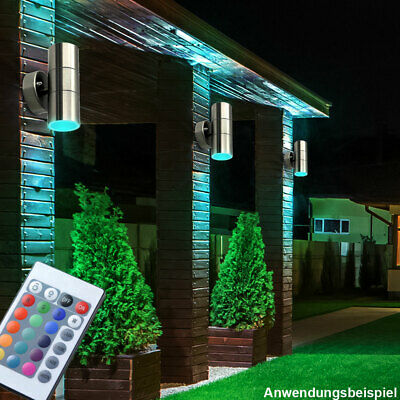 RGB LED Wall Lights Up Down Lighting Effect Atmosphere Sconce Lamps 6W 220V RT95