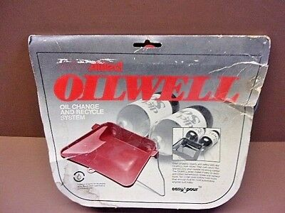NOS & Rare Allied Plastics OILWELL Oil Change & Recycle System What a Concept!
