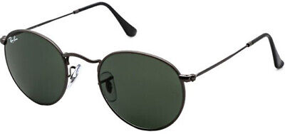 Ray-Ban Polarized Round Metal Sunglasses w/ Glass Lens - RB3447 00258 53 - Italy