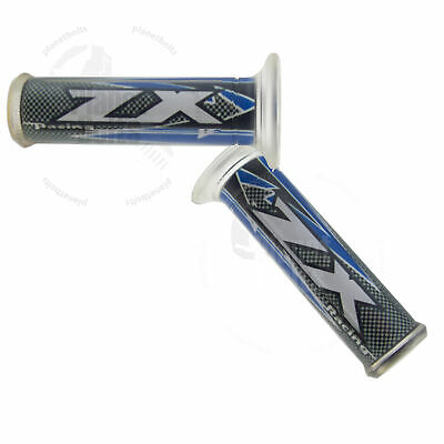 """Blue Recon Hand Grip 7//8/"""" Universal Grippy Handle Bar 22mm Left Right Front"""