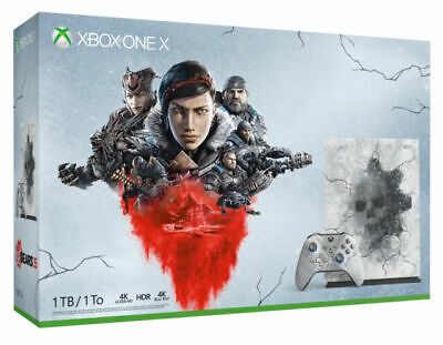 Xbox One X 1TB - Gears 5 Limited Edition Console Bundle