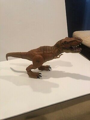 Jurassic World STOMP AND STRIKE T-Rex Dinosaur electronic  Working With Sounds