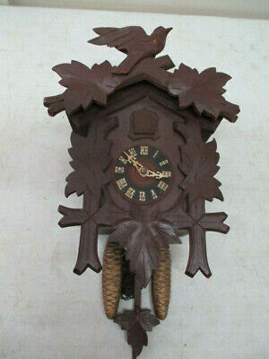 German Black Forest Cuckoo Clock-For Parts Or Repair