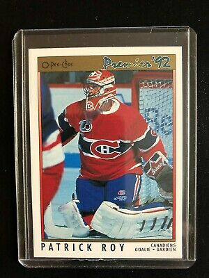 Patrick Roy 1991/92 OPC Premier #14 Montreal Canadiens Hockey Card