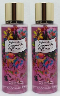 2 Victoria's Secret JASMINE DREAM Fragrance Body Mist 8.4 oz