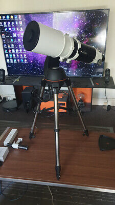 Skywatcher 120 f5 refractor telescope with Goto mount