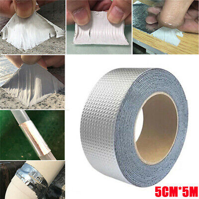 Super Strong Waterproof Tape Butyl Seal Aluminum Foil Magic Repair Adhesive Tape