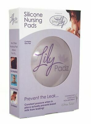 Simply Lily Silicone Nursing Pads Lily Padz - breast feeding breast milk pads