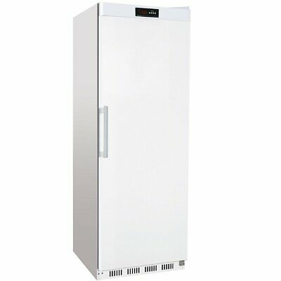 Commercial Refrigerator Upright cabinet 400 litres White Single door fridge