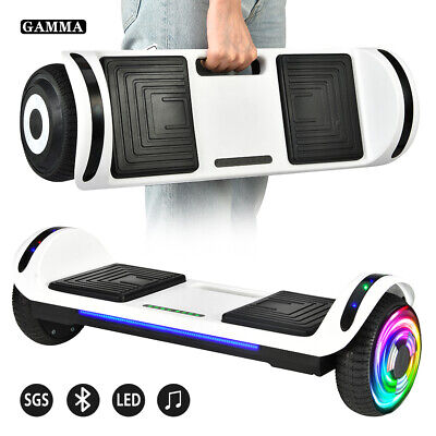 "6.5"" Bluetooth Hoverboard LED Self Balancing Electric Scooter UL2272 Without Bag"
